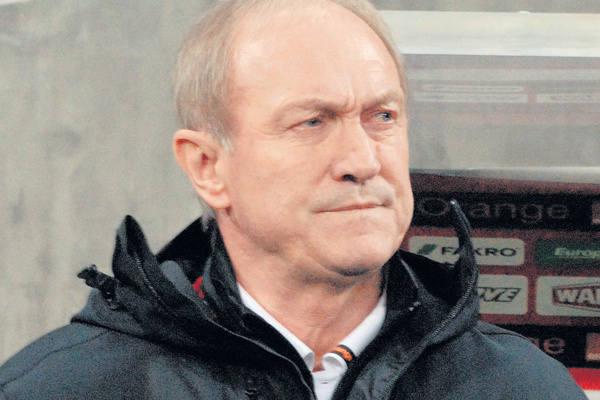 Trener Franciszek Smuda
