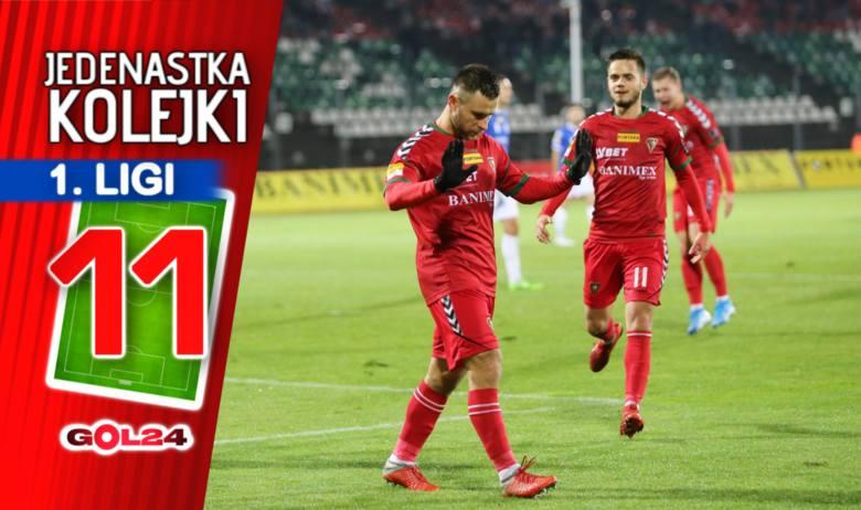 Warta mistrzem jesieni. Jedenastka 17. kolejki Fortuna 1 Ligi według GOL24.pl!