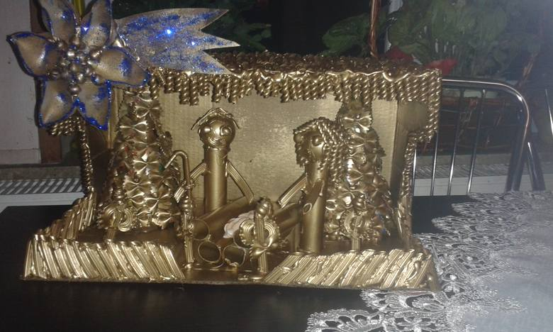 Kolejna porcja świątecznych ozdób, wykonanych przez naszych Czytelników