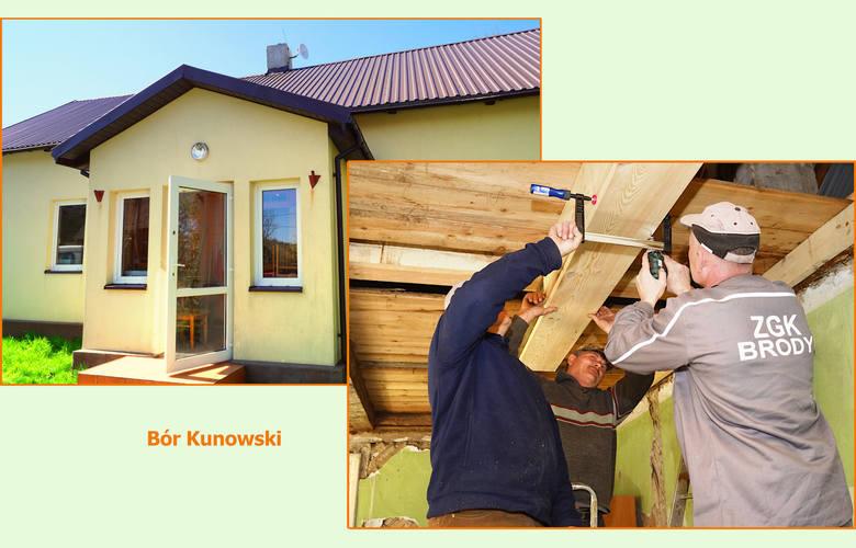 W budynku starej szkoły w Borze Kunowskim powstaje świetlica środowiskowa