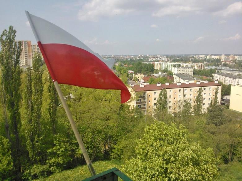 Swoja flagę nadesłał też Czytelnik Spring78.