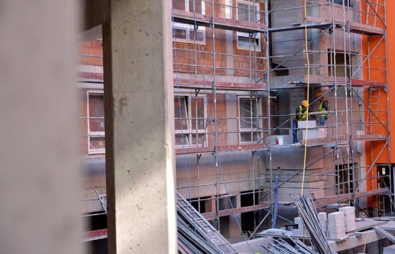 Rozbudowa COZL stoi w miejscu. W październiku 2016 roku wykonawca zszedł z budowy