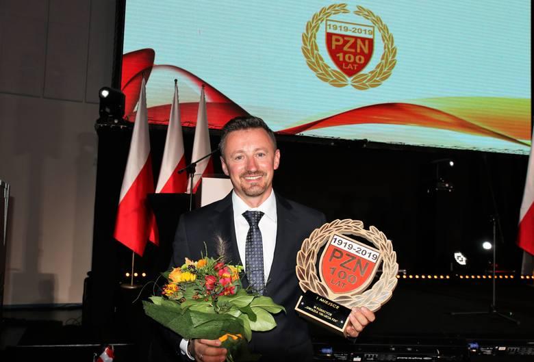 Gala 100-lecia Polskiego Związku Narciarskiego w małej Tauron Arenie w Krakowie