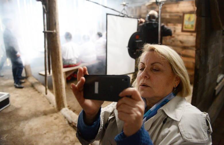 """Swój własny film nagrywała redaktor naczelna Gazety Lubuskiej"""" Iwona Zielińska"""