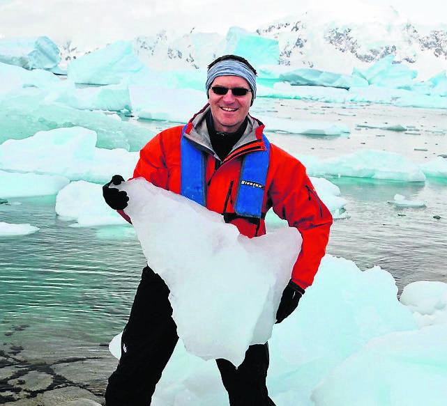 Postawiłem nogę na Antarktydzie!