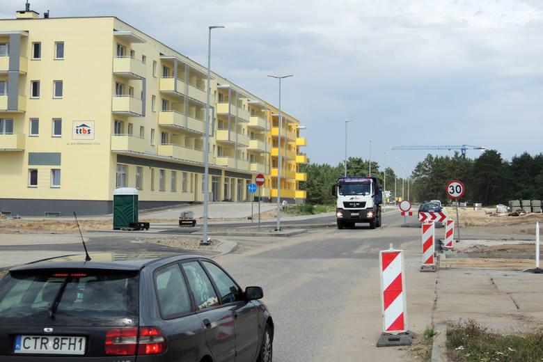 Na jakim etapie są inwestycje na terenie na tzw. Jarze w Toruniu?