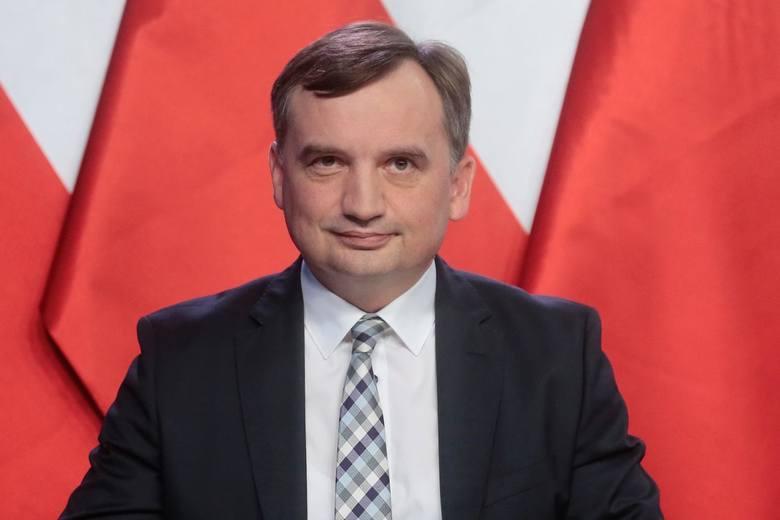 """Konferencja ministra sprawiedliwości Zbigniewa Ziobry w sprawie wyroku TSUE. """"Orzeczenie jest dla mnie nie do przyjęcia"""""""