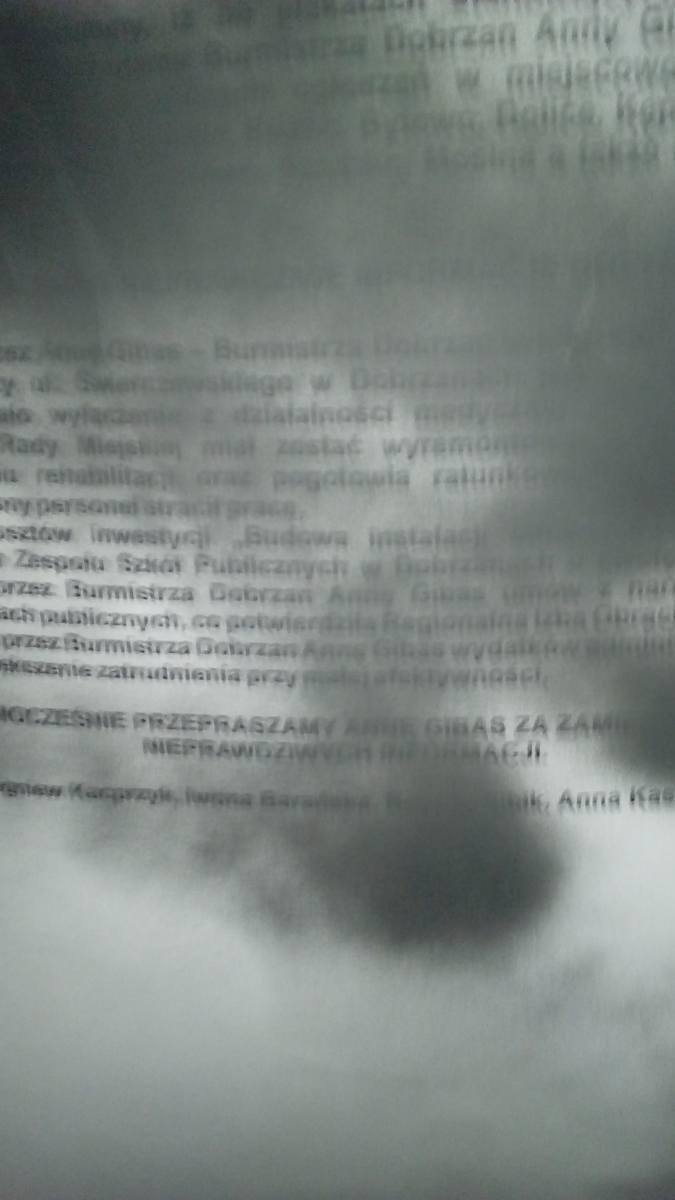Wojna plakatowa w gminie Dobrzany, czyli gorąca atmosfera przed referendum