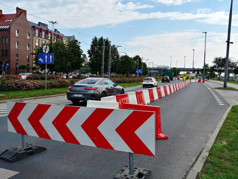 Zamknięte ulice w Szczecinie z okazji Dni Morza 2019. Wały Chrobrego już nieprzejezdne. Co dalej?