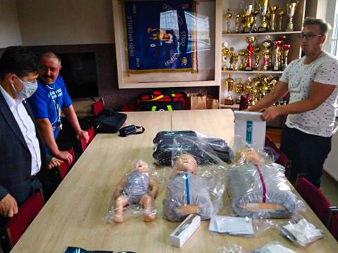 Strażacy z OSP ze Starowej Góry dostali fantomy