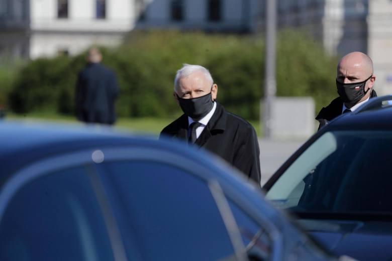 """Ochrona domu Jarosława Kaczyńskiego. Prawo i Sprawiedliwość wydało oświadczenie. """"Kwestie bezpieczeństwa traktujemy poważnie"""""""