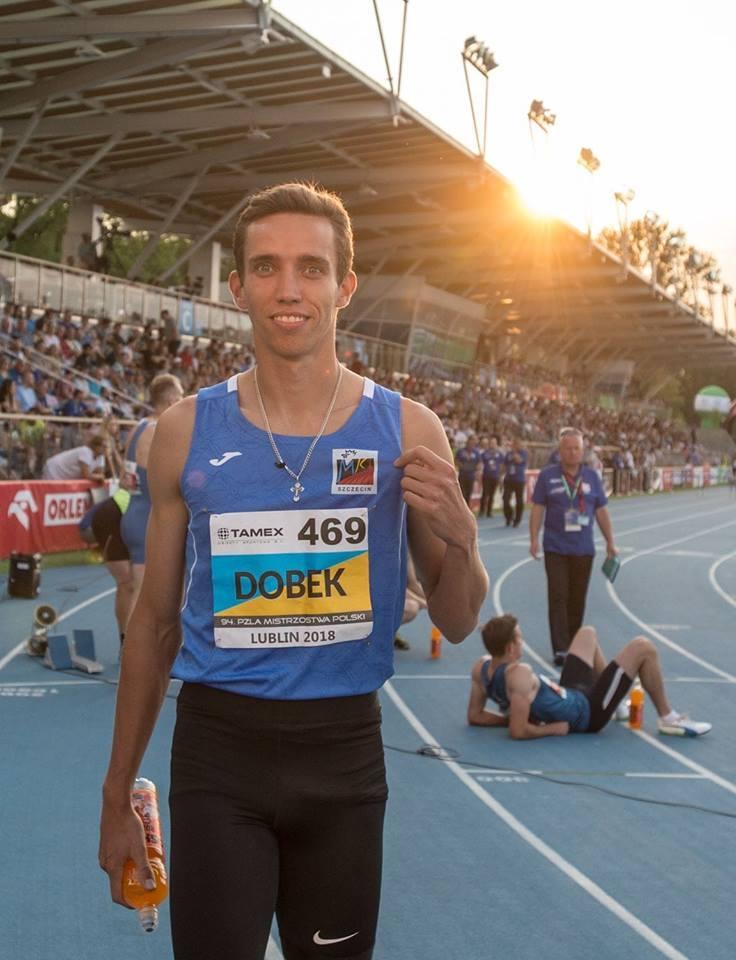 Patryk DobekDoświadczenie z reprezentacji ma już spore, ale w Berlinie zadebiutuje jako biegacz MKL Szczecin. Opuścił Sopot, by u nas kontynuować edykację