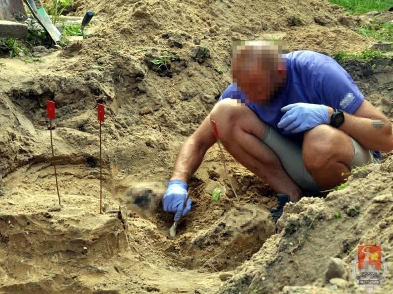 Szamoty. Ofiary porachunków gangsterskich. Szczątki znalazła policja (wideo, zdjęcia)