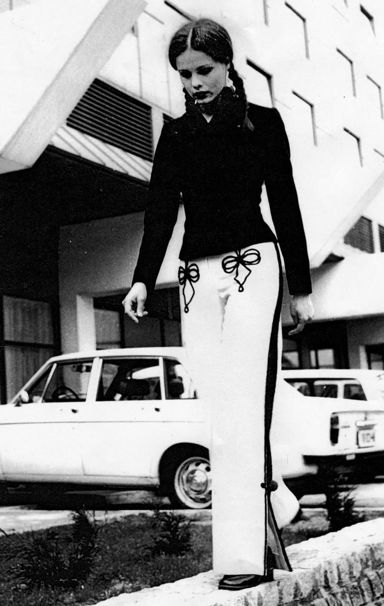 Kolekcja z motywami zakopiańskimi, lata 70.