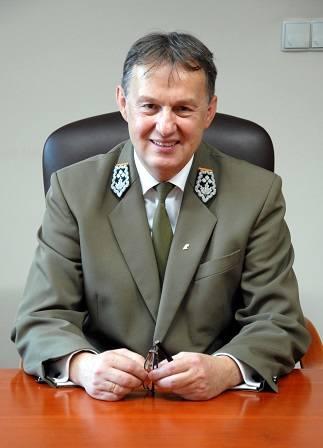 Andrzej Gołembiewski zastepca dyrektora ds rozwoju w Regionalnej Dyrekcji Lasów Państwowych w Białymstoku