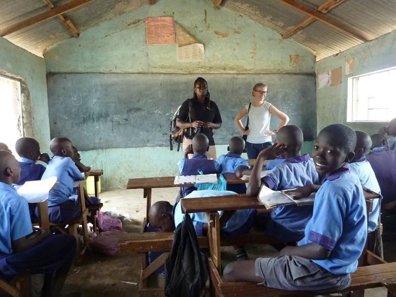 Włocławianka Monika Grzelak pracuje w slumsie w Nairobi