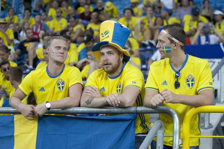 Euro U21 w Lublinie. Tak bawili się kibice Szwecji i Słowacji