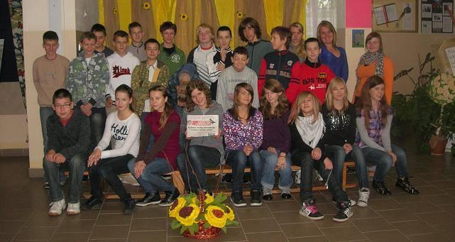 Takie zdjęcie przysłała na nasz plebiscyt klasa 1b z Gimnazjum nr 2 w Międzyrzeczu (wychowawca Grażyna Korowacka)