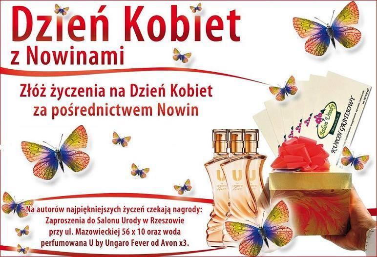 Złóż życzenia na Dzień Kobiet za pośrednictwem Nowin!