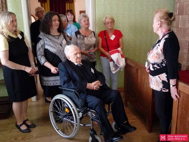 Eugeniusz Mróz w Wadwicach