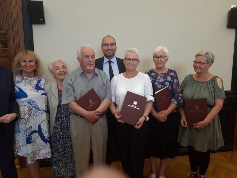 Marszałek uhonorował wyróżniających się seniorów [wideo]
