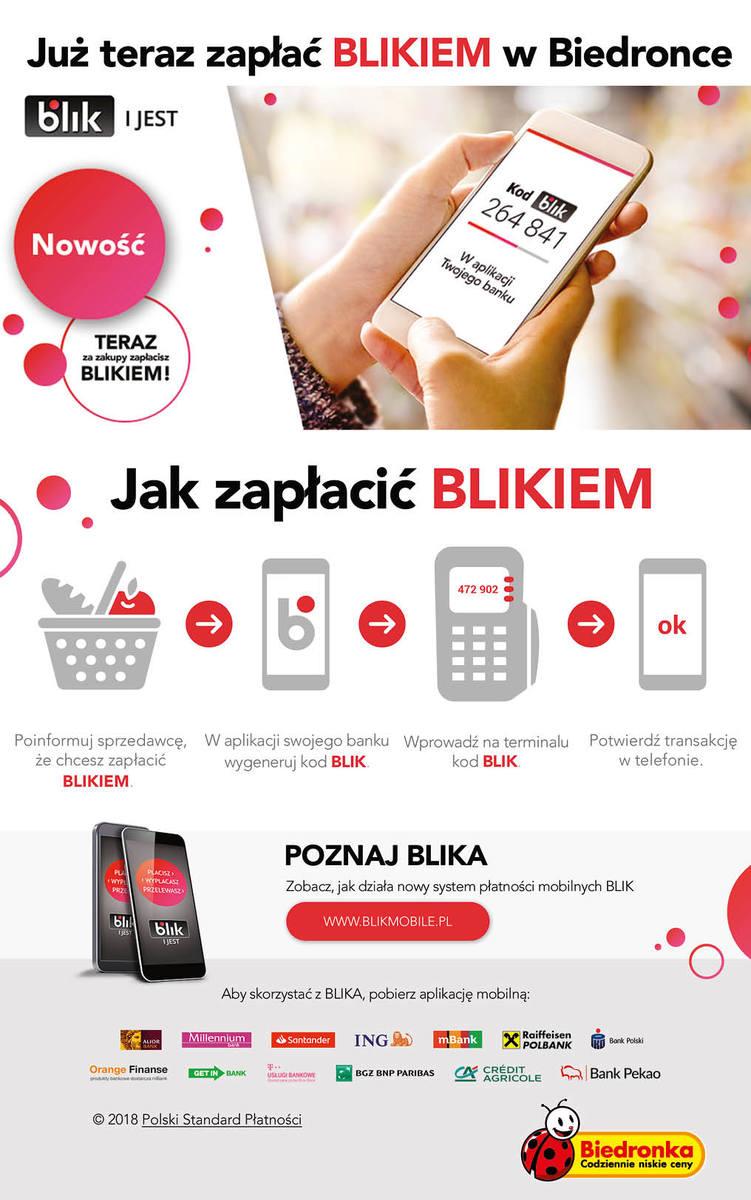 Za zakupy w Biedronce zapłacisz korzystając z telefonu