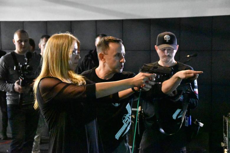 Na siedmiu stanowiskach otwartej w piątek 8 listopada strzelnicy w Lubiszynie można tu strzelać na różnych dystansach do 25 m. System Milo Range umożliwia