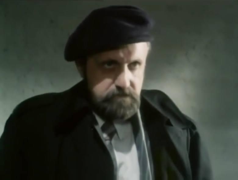 """Odcinek dziesiąty """"Grobowiec rodziny von Rausch"""". Henryk Machalica grał w poznańskim Teatrze Polskim (1962–1969)<br />"""