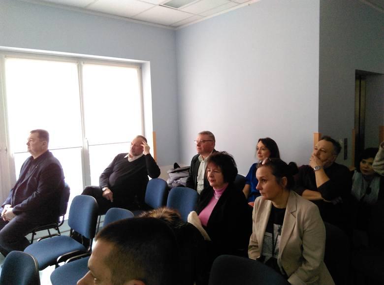 """Wśród obserwatorów operacji byli też lekarze z Białorusi, którzy razem z kolegami ze Śniadecji realizują projekt """"Poprawy transgranicznej opieki zdrowotnej"""