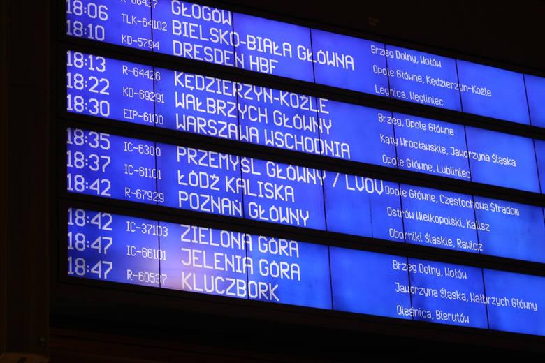 Po wakacjach czeka nas kilka nowości na kolei, w związku z wprowadzeniem nowego rozkładu jazdy. Co się zmieni we Wrocławiu? Przede wszystkim będzie więcej