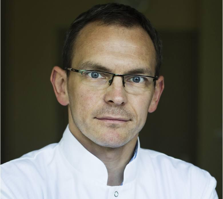 Prof. Piotr Wysocki: Jesteśmy wręcz porażeni tą liczbą pacjentów, jaka na nas spada