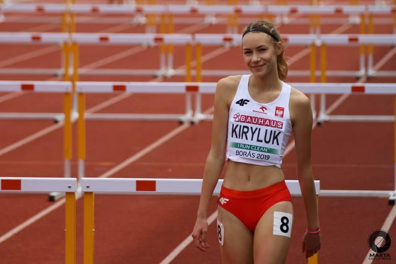 Aleksandra Kiryluk na mistrzostwach Europy do lat 20 w Boras