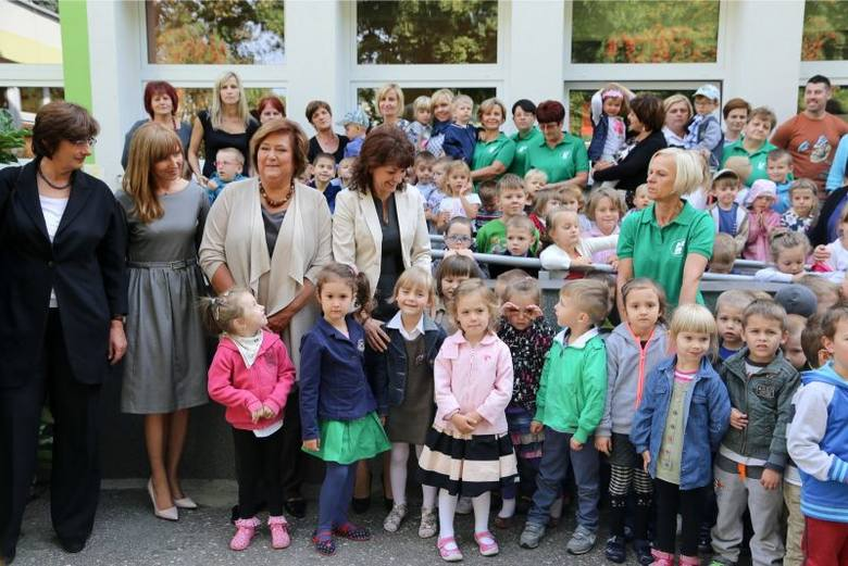 Anna Komorowska odwiedziła PS nr 26 (zdjęcia)