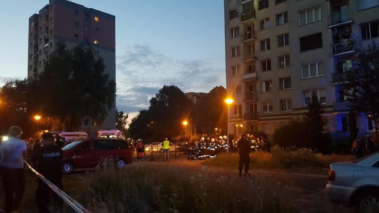 Do wybuchu doszło w środę, 3 lipca w wieżowcu przy ul. Wyszyńskiego 25 w Zielonej Górze.