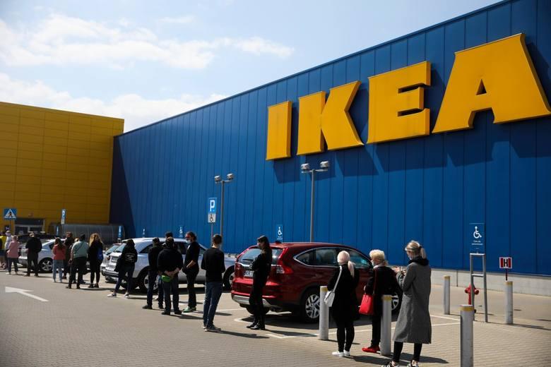 Kraków. Tłumy ruszyły na zakupy do sklepu IKEA [ZDJĘCIA]