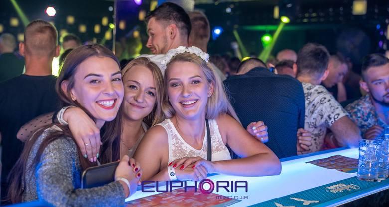Fotogaleria z weekendowej imprezy w klubie Euphoria w Łebie. Zobacz koniecznie!