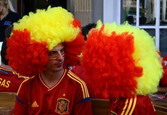 Kibice Hiszpanii mają powody do radości