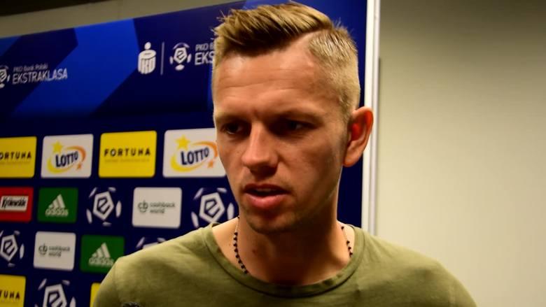 Matus Putnocky po meczu Legia - Śląsk: Powiedzieliśmy sobie, że nie możemy pozwolić Legii na wiele