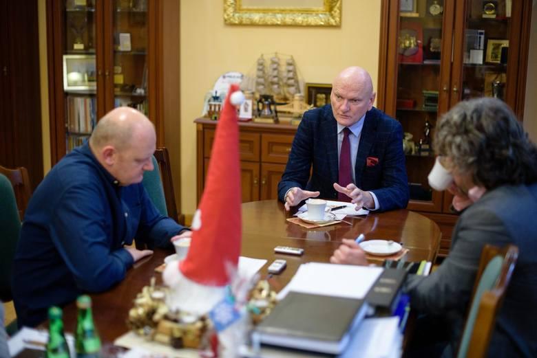 Rozmowa z prezydentem Torunia Michałem Zaleskim