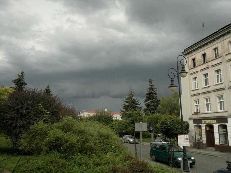 Burza w Namysłowie.