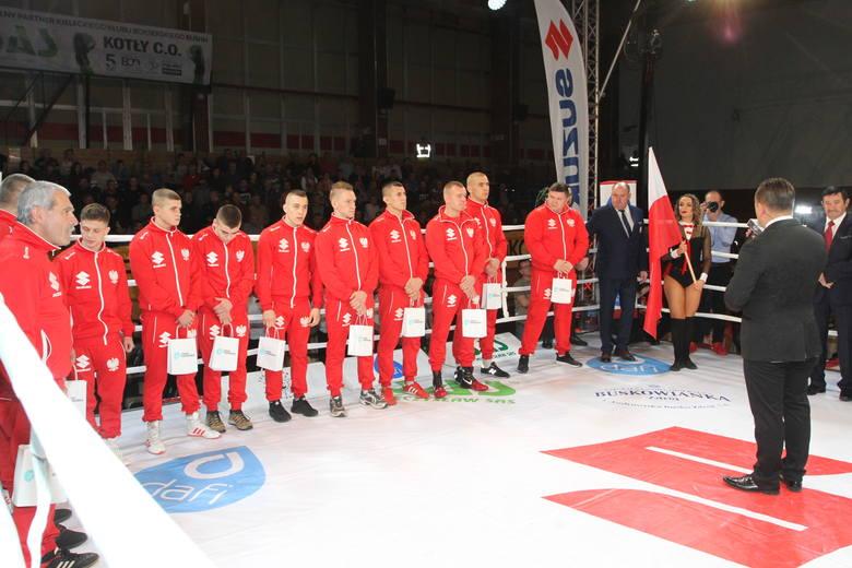 Świetny mecz w Kielcach i porażka Polski z Rosją 4:14. Najlepszy był Gołębiewski [DUŻO ZDJĘĆ, WIDEO]