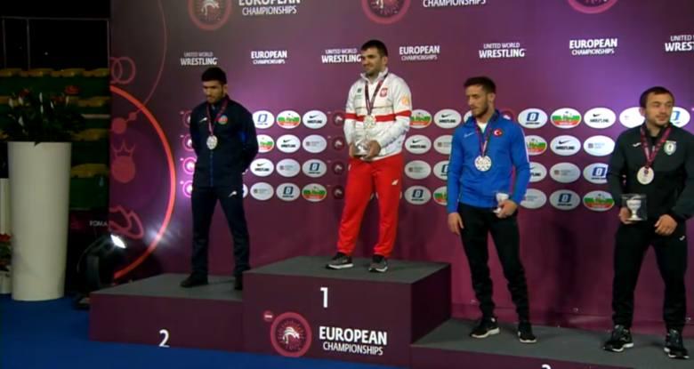 Zapaśnik z Piotrkowa Magomedmurad Gadżijew mistrzem Europy