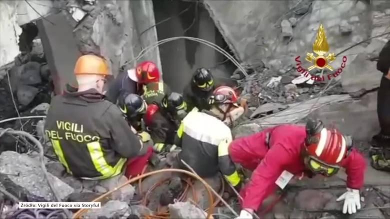 Zawalił się wiadukt w Genui. We wtorek, 14 sierpnia, około godz. 11:30 w Genui na północy Włoch runął fragment wiaduktu na autostradzie A10. Gruzy przysypały