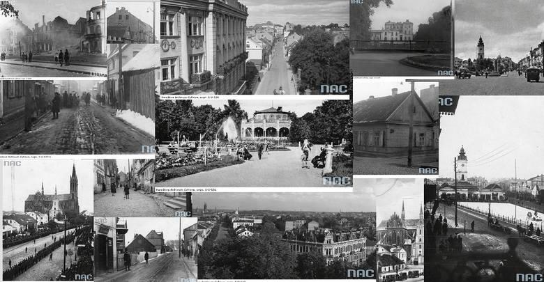 Tak wyglądał przedwojenny Białystok. Miasto miało piękne, reprezentacyjne ulice, ale także inne ciekawe zakątki, jak Chanajki. Zobacz archiwalne zdj