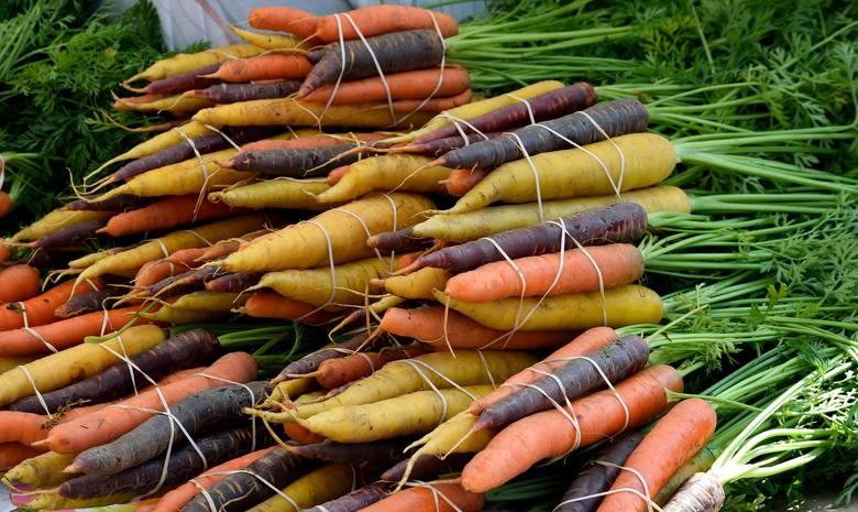 Marchewka występuje w różnych kolorach. Czarna, fioletowa, czerwona, żółta i biała marchew są równie cenne, co znane dobrze marchewki pomarańczowe, choć