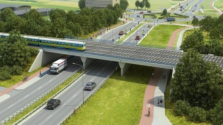 Urzędnicy miejscy od lat informowali, że na Jagodno będzie jeździł tramwaj. Okazuje się, że przez ten cały czas nie zapytali o zdanie spółki kolejowej,