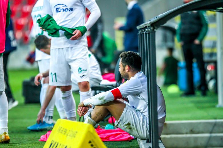 W meczu 25 kolejki Fortuna 1 Liga, Radomiak Radom przegrał 0:1 z GKS w Tychach. Jedynego gola strzelił w 44 minucie meczu, Łukasz Grzeszczyk z rzutu