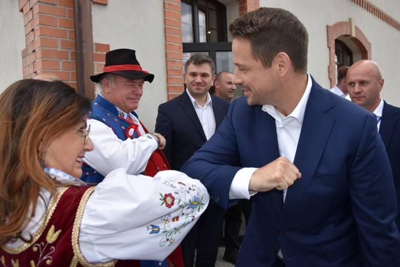 Rafał Trzaskowski w Kartuzach 30.06.2020