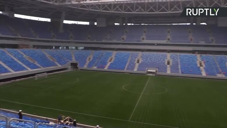 Zenit Arena - najnowocześniejszy stadion w Rosji gotowy na MŚ 2018 [WIDEO]
