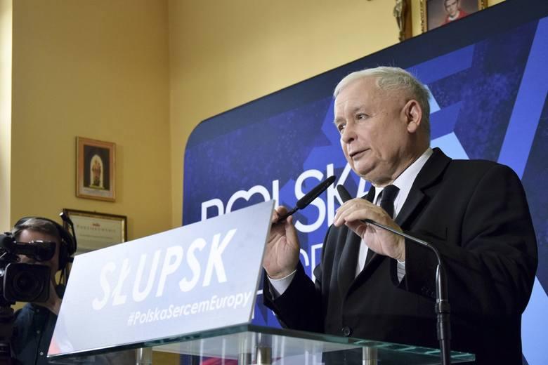 W czwartek Jarosław Kaczyński przyjedzie do Słupska